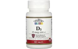 Витамин  D3 (1,000 IU)