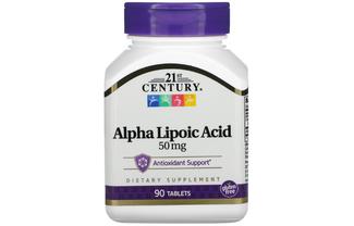 Альфа-липоевая кислота 50 мг
