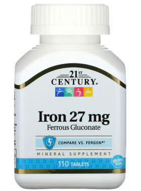 Iron 27 mg (Железо)