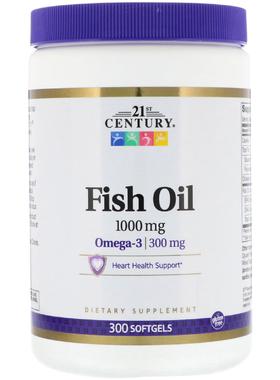 Рыбий жир, Омега-3, 1000 мг