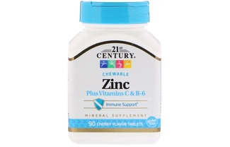 Zinc Plus Vitamins C & B-6