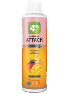L-Carnitine + Guarana Attack 3600