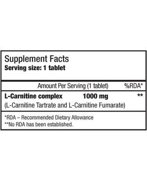 L-CARNITINE 1000 мг
