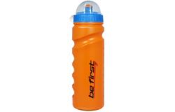 Бутылка для воды с крышкой оранжевая