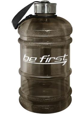 Бутылка для воды 2200 мл чёрная (прозрачная)