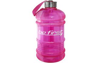 Бутылка для воды 2200 мл розовая (прозрачная)