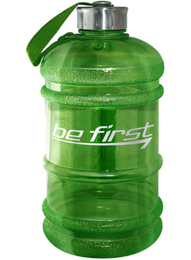 Бутылка для воды 2200 мл зеёлная (прозрачная)