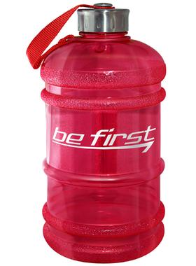 Бутылка для воды 2200 мл красная (прозрачная)