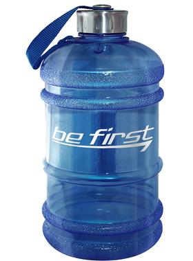 Бутылка для воды 2200 мл синяя (прозрачная)