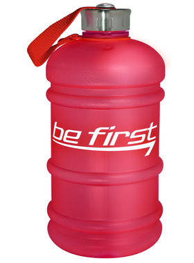Бутылка для воды 2200 мл красная (матовая)