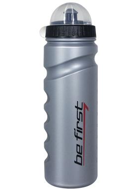 Бутылка для воды с крышкой серебристая