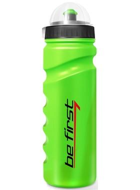 Бутылка для воды с крышкой зеленая