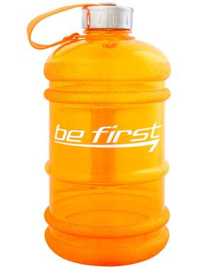 Бутылка для воды 2200 мл оранжевая (прозрачная)