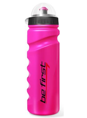Бутылка для воды с крышкой розовая