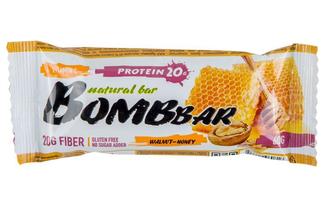 Протеиновый батончик с мёдом и орехами