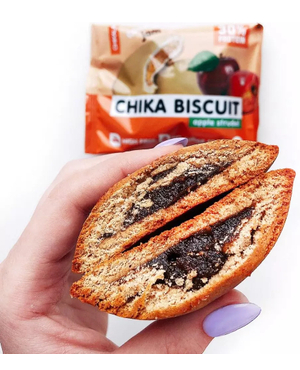 Бисквитное печенье (яблочный штрудель)