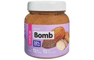 Миндальная паста с морской солью SENOR BOMB