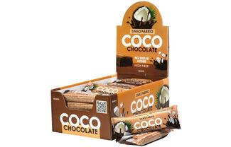 Батончик в шоколаде Snaq Fabriq (Шоколадный кокос)