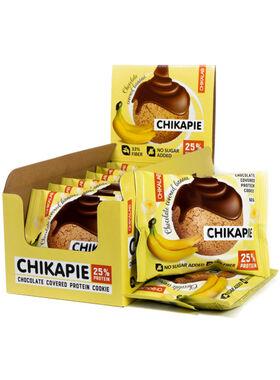 Протеиновое печенье Chikalab Банан в шоколаде