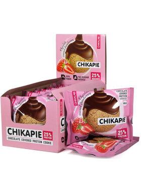Протеиновое печенье Chikalab Клубника в шоколаде