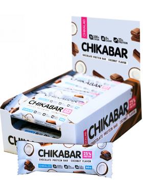 Протеиновый батончик Chikalab Кокос