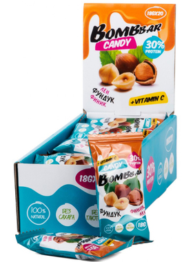 Протеиновые конфеты лён,фундук и финик