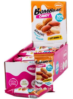 Протеиновые конфеты финик, арахис и кунжут