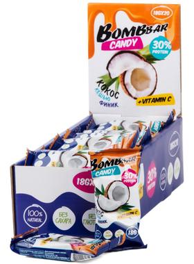 Протеиновые конфеты финик, кокос и кешью