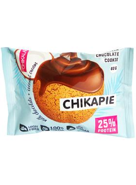 Протеиновое печенье Chikalab Кокос с начинкой