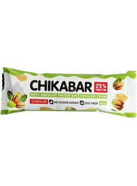 Протеиновый батончик Chikalab Фисташковый крем
