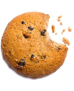 Протеиновое печенье Смородина-Черника