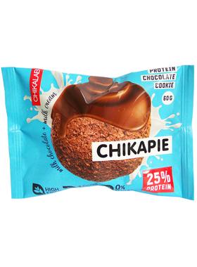 Протеиновое печенье Chikalab Шоколад с начинкой