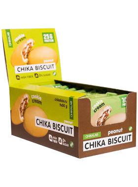 Бисквитное печенье Chikalab арахисовый