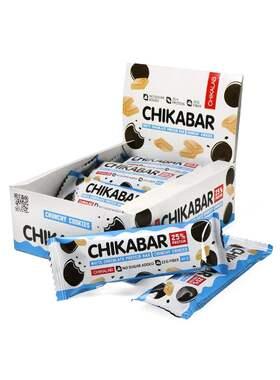 Протеиновый батончик Chikalab Печенье с кремом