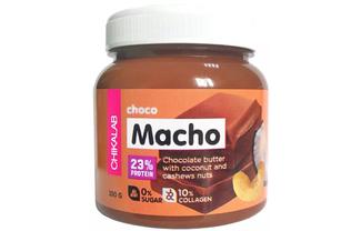 Шоколадная паста Chikalab Choco Macho с кокосом и кешью
