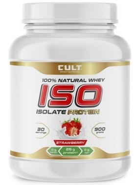100% Natural Whey ISO Isolate Protein