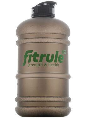 Бутылка матовая 2,2 литра (крышка щелчок, чёрная)