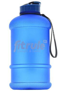 Бутылка матовая 2,2 литра (крышка щелчок, синий)