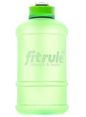 Бутылка матовая 2,2 литра (крышка щелчок, зелёная)