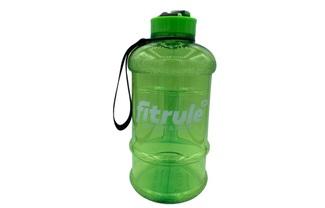 Бутылка 1,3 литра (крышка щелчок, зелёная)