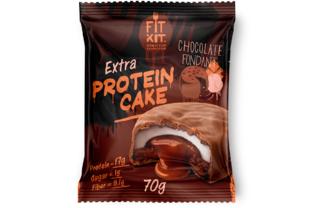 Extra Protein Cake (шоколадный фондан)
