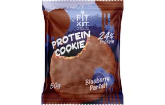 Choco Protein Cookie (черничное парфе)