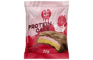 Protein Cake (Клубника со сливками)
