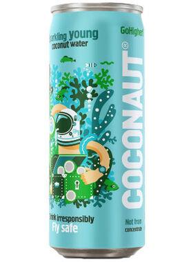 Кокосовая вода Coconaut (Газированная)