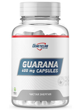 Guarana capsules