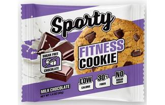 Низкокалорийное фитнес-печенье Молочный шоколад без сахара