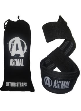 Тяги animal lifting straps non slide (пара)+мешок для хранения