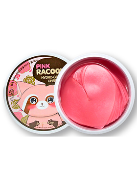 Гидрогелевые патчи для глаз Pink Racoony Hydro Gel and Cheek Patch