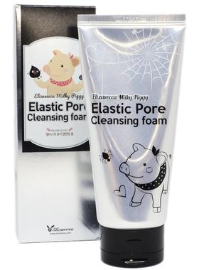 Пенка с древесным углем Milky Piggy Elastic Pore Cleansing Foam