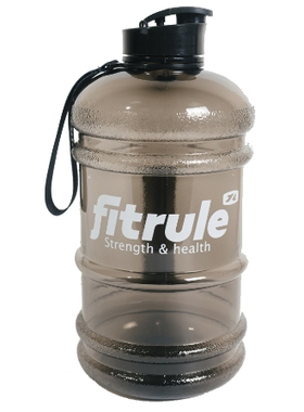 Бутылка FitRule 2200 мл черная